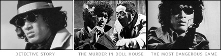 picture: scenes from 'Golden Wolf Resurrection', 'The Murder in Doll House' and 'The Most Dangerous Game'