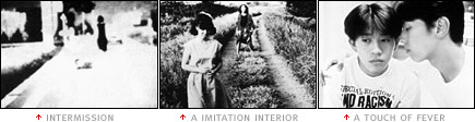 picture: scenes from 'Intermission', 'A Imitation Interior' and 'A Touch of Fever'