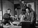 picture: scene from 'Zatoichi and the Chess Expert'